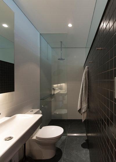 Contemporary Bathroom by Sam Crawford Architects