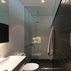 Contemporary Bathroom by Sam Crawford Architects