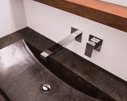 Salle de bain blanche et relaxante - Salle de bain blanche ...