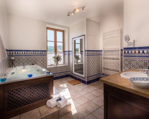 Salle De Bain Avec Carrelage En Mosaïque Photos Et Idées Déco De - Salle de bains mosaique