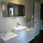 Mackenzie Contemporary Bathroom Edmonton By