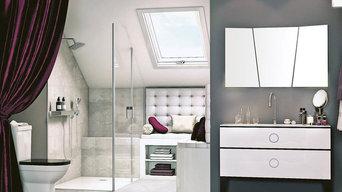 Salle de bain tendance Classique chic