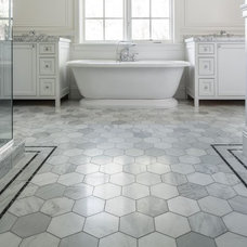 Traditional Bathroom by Tarkus Tile, Inc.