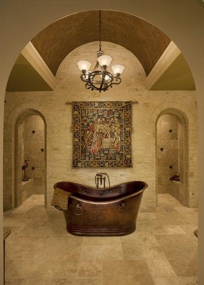 Traditional Bathroom by Sam Allen Custom Home Design