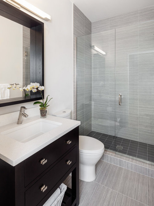 Houzz remodel small bathroom design ideas remodel pictures - Pictures of small bathrooms ...