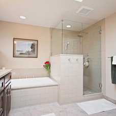 Traditional Bathroom by ACH Design LLC