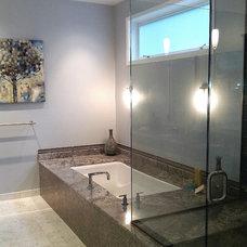 Traditional Bathroom by Yarbro Home Improvement LLC