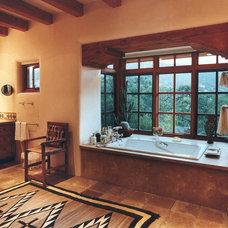 Eclectic Bathroom by Susan Westbrook Designs