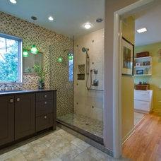 Contemporary Bathroom by Custom Design/Build, Inc.