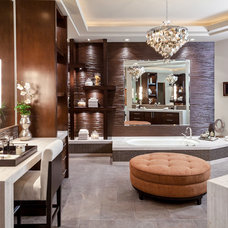 Contemporary Bathroom by Blackbird Interiors
