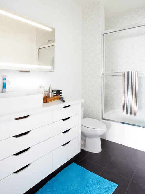 Houzz Ikea Hack Bathroom Design Ideas amp Remodel Pictures