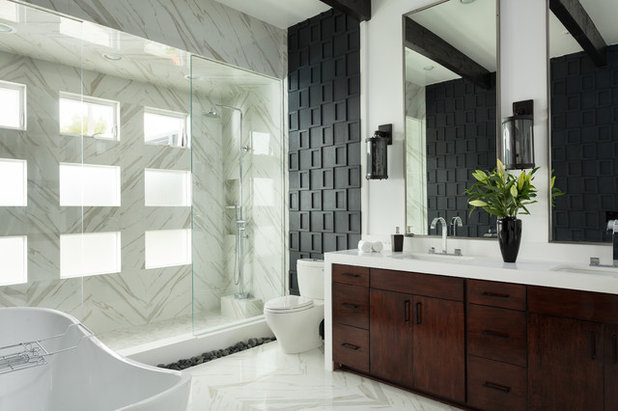 Dimensional Tile try dimensional tile for a designed look