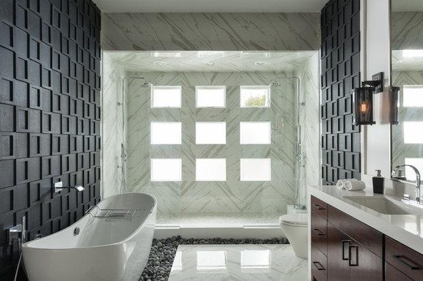 Contemporain Salle de Bain by Susan Thiel Design