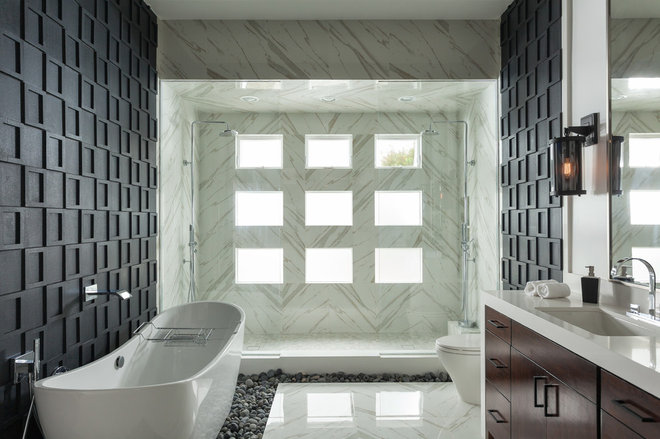 Contemporary Bathroom by Susan Thiel Design