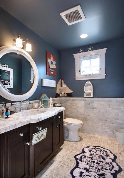 Beach Style Bathroom by Darci Goodman Design