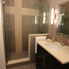 Contemporary Bathroom by Sanctuary Interiors