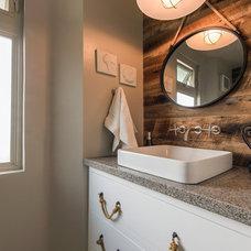 Beach Style Bathroom by Hochuli Design & Remodeling Team