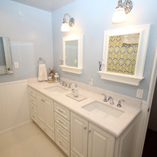 Traditional Bathroom by Ideal Kitchen & Bath Remodeling