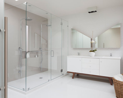 Modern Bathroom Shower | Houzz