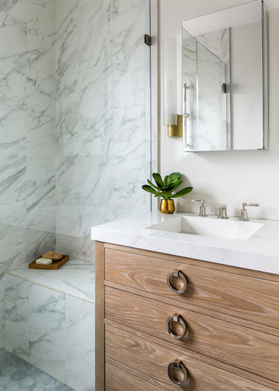 Contemporary Bathroom by Kelly Scanlon Interior Design