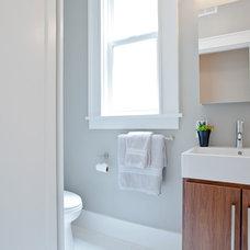 Contemporary Bathroom by Amanda Sava