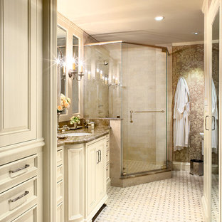 how to tile bathrooms bathroom corner shower houzz 18779