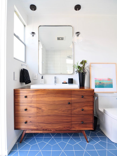 1950s Bathroom Idea In San Francisco