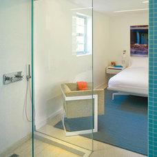 Modern Bedroom by Robert Kaner Interior Design