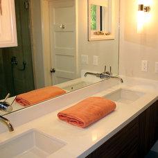 Contemporary Bathroom by Erika Bruder Interior Design LLC