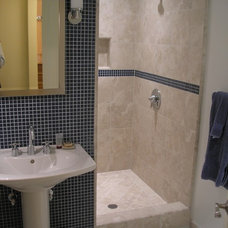 Traditional Bathroom by BMF CONSTRUCTION