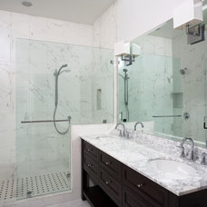 Contemporary Bathroom by Valley Home Builders