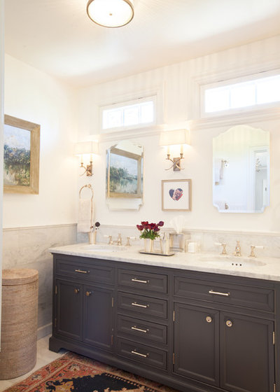 Traditional Bathroom by Kari McIntosh Design