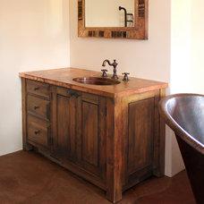Rustic Bathroom by La Puerta Originals