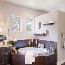 Contemporary Bathroom by Sitterle Homes