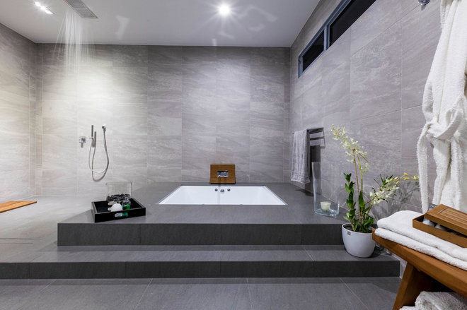Contemporary Bathroom by PM Concepts