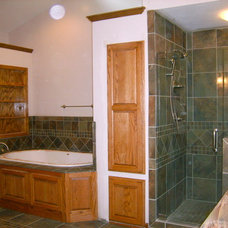 Transitional Bathroom by Before and After Builders, Inc