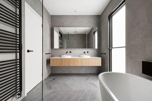Contemporary Bathroom by Centrum Architects