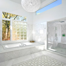 Contemporary Bathroom by Joseph Scarpulla - Architect