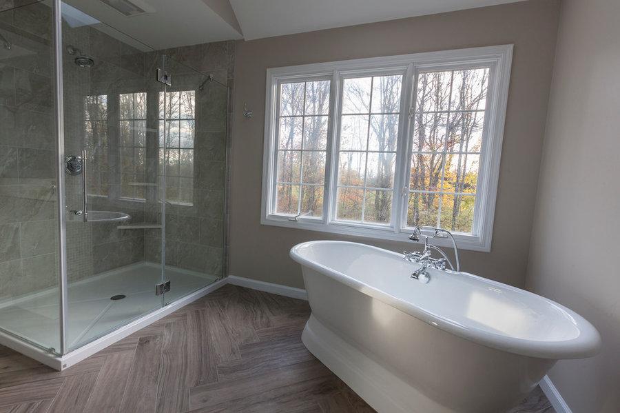 Sandy Hook Transitional Master Bath