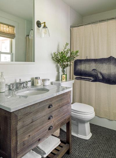 Beach Style Bathroom by LDa Architecture & Interiors