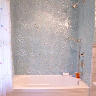 アトランタのトラディショナルスタイルのおしゃれな浴室の写真