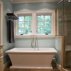 Traditional Bathroom by Attention to Detail Home Remodeling