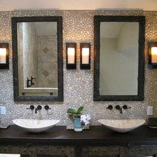 Eclectic Bathroom by Legal Eagle Contractors