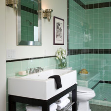 Beach Style Bathroom by Kathryne Designs, Inc