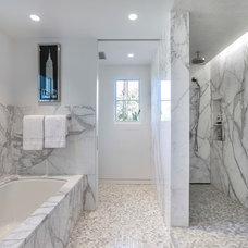 Contemporary Bathroom by David M. Kim, Realtor @ Village Properties