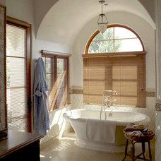 Mediterranean Bathroom by Francis Garcia Architect