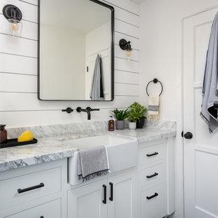 Beautiful Small Farmhouse Bathroom, Modern Farmhouse Small Bathroom Ideas