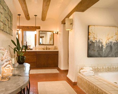 Eclectic home design photos decor ideas in albuquerque for Bath remodel albuquerque