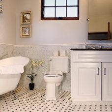 Traditional Bathroom by Bob Di Janni Custom Homes Inc.