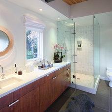 Contemporary Bathroom by P2 Design